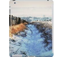 Snow Path iPad Case/Skin