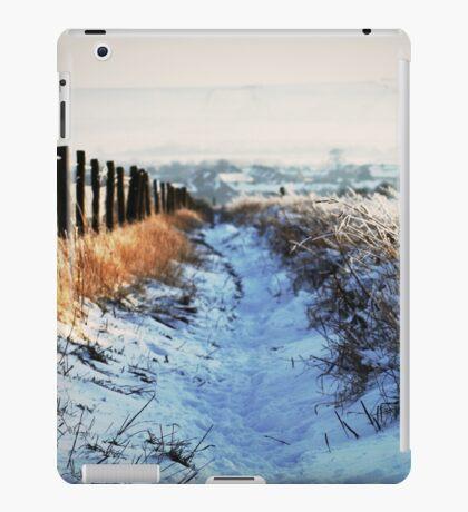 Snow Path iPad Case/Skin