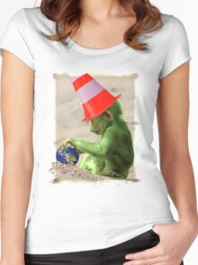 Little Ape Women's Fitted Scoop T-Shirt