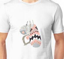 Tribal feather pattern 013 Unisex T-Shirt