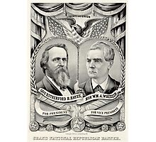 Grand National Republican banner - 1876 Photographic Print