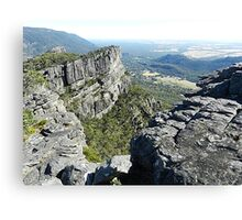 The Grampians Mountain Range, National Park . Vic.  Australia Canvas Print