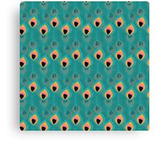 Tribal feather pattern 015 Canvas Print