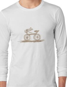 Retro Bike Long Sleeve T-Shirt