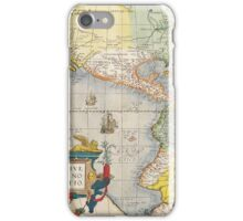 Antique Maps of the WorldThe AmericasAbraham Orteliusc iPhone Case/Skin