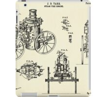 Steam Fire Engine-1896 iPad Case/Skin