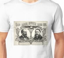 Grand national Republican banner 1880 - 1880 Unisex T-Shirt