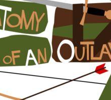 Anatomy of an Outlaw Sticker
