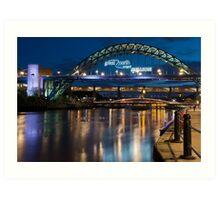 Tyne Bridge, Newcastle Art Print