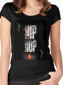 Hip Hop Women's Fitted Scoop T-Shirt