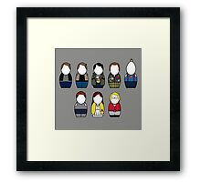 The Goonies - version 2 (without quote) Framed Print