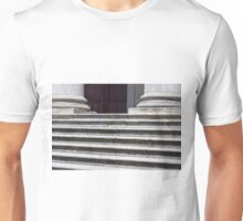 Marble stairs and base of columns Unisex T-Shirt