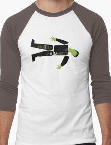 Anatomy of a Monster: Frankenstein Men's Baseball ¾ T-Shirt