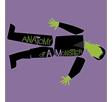 Anatomy of a Monster: Frankenstein Photographic Print