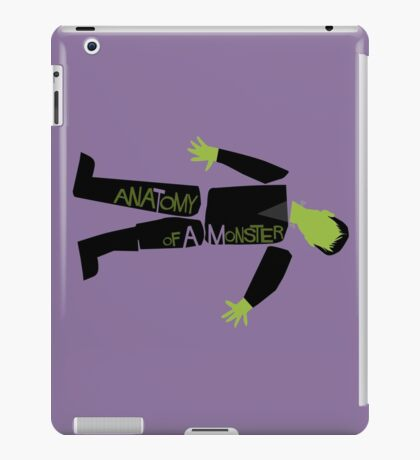 Anatomy of a Monster: Frankenstein iPad Case/Skin