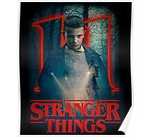 stranger things eleven squad  Poster