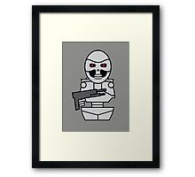 Terminator - version 2 (without quote) Framed Print