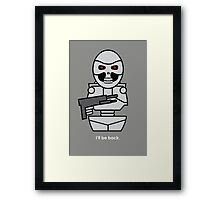 Terminator - version 2 Framed Print