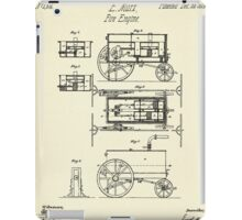 Fire Engine-1845 iPad Case/Skin