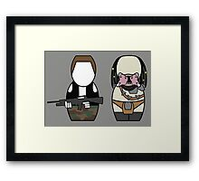 Predator - version 2 (without quote) Framed Print