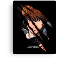 Light Yagami Canvas Print