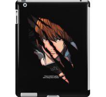 Light Yagami iPad Case/Skin