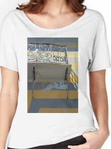 Balcony detail with thin metal decoration Women's Relaxed Fit T-Shirt