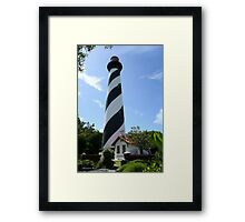 St. Augustine Lighthouse ~ 1874 Framed Print