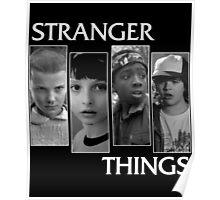 stranger things squad  Poster