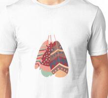 Tribal feather pattern 019 Unisex T-Shirt