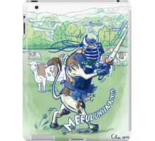 Kendo en normandie iPad Case/Skin
