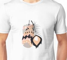 Tribal feather pattern 020 Unisex T-Shirt