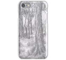 Old forest iPhone Case/Skin