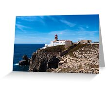 Cabo san Vicente, Portugal Greeting Card