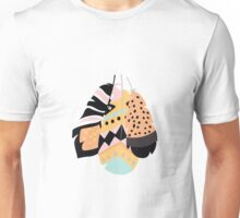 Tribal feather pattern 021 Unisex T-Shirt