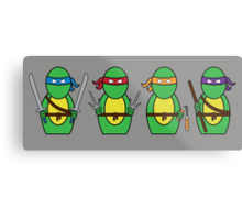 Teenage Mutant Ninja Turtles (without quote) Metal Print