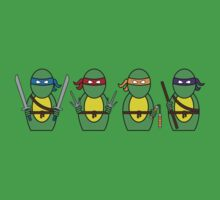 Teenage Mutant Ninja Turtles (without quote) Kids Clothes