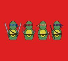 Teenage Mutant Ninja Turtles (without quote) Baby Tee