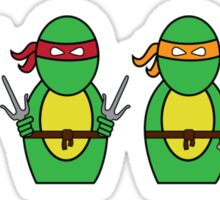 Teenage Mutant Ninja Turtles (without quote) Sticker