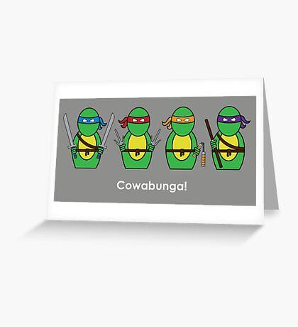 Teenage Mutant Ninja Turtles Greeting Card