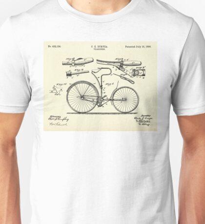 Velocipede-1890. Unisex T-Shirt