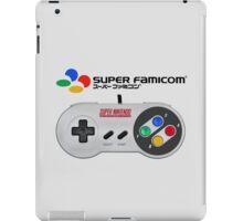Super Famicom controller and logo iPad Case/Skin