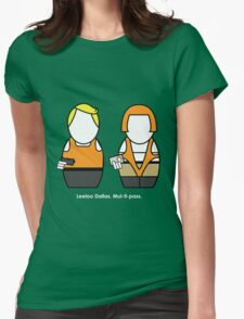Fifth Element (with quote) Womens Fitted T-Shirt