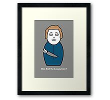 Halloween (with quote) Framed Print