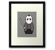 Friday the 13th (without quote) Framed Print