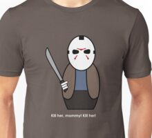 Friday the 13th (with quote) Unisex T-Shirt