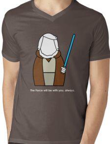 S.W. - O-B W. Mens V-Neck T-Shirt