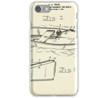 Anchor Rope Attachment for boats-1900 iPhone Case/Skin