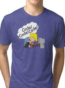 Code! Code! Code! Tri-blend T-Shirt