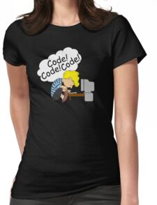 Code! Code! Code! Womens Fitted T-Shirt